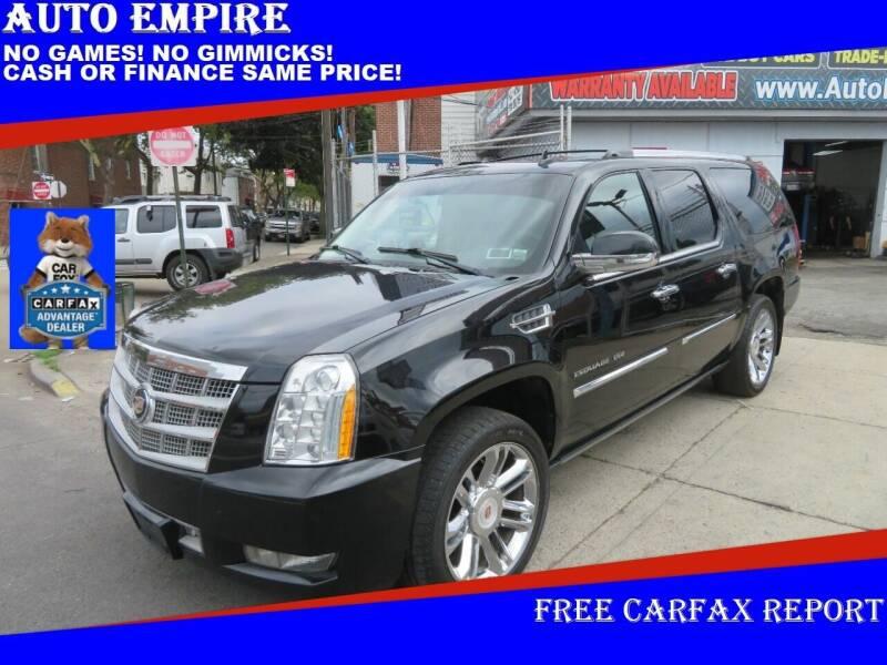 2011 Cadillac Escalade ESV for sale at Auto Empire in Brooklyn NY