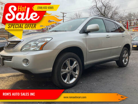 2007 Lexus RX 400h for sale at RON'S AUTO SALES INC in Cicero IL
