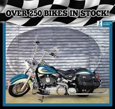 2009 Harley-Davidson FLSTC Heritage Softail Classic for sale at AZautorv.com in Mesa AZ