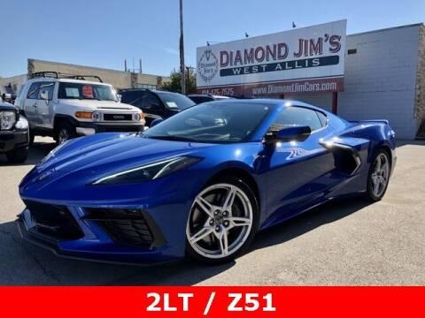 2020 Chevrolet Corvette for sale at Diamond Jim's West Allis in West Allis WI