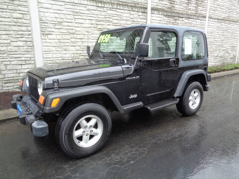 1999 Jeep Wrangler for sale at Matthews Motors LLC in Algona WA