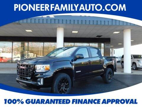 2021 GMC Canyon for sale at Pioneer Family auto in Marietta OH