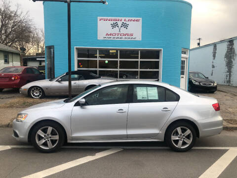 2012 Volkswagen Jetta for sale at Finish Line Motors in Tulsa OK