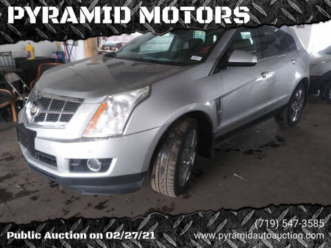 2010 Cadillac SRX for sale at PYRAMID MOTORS - Pueblo Lot in Pueblo CO