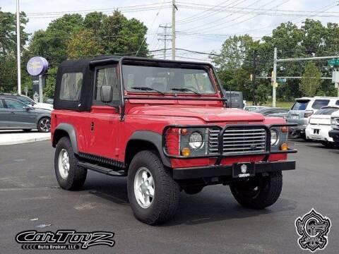 1995 Land Rover Defender for sale at Distinctive Car Toyz in Egg Harbor Township NJ