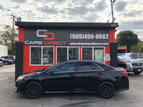 2012 Toyota Camry for sale at Cars Direct in Ontario CA