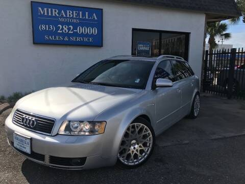 2004 Audi A4 for sale at Mirabella Motors in Tampa FL