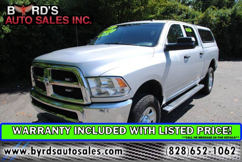 2016 RAM Ram Pickup 2500 for sale at Byrds Auto Sales in Marion NC