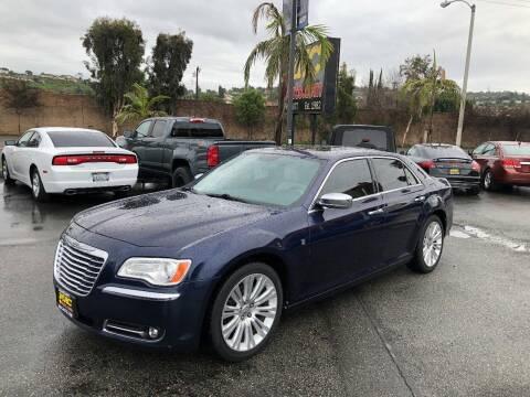 2013 Chrysler 300 for sale at Mac Auto Inc in La Habra CA