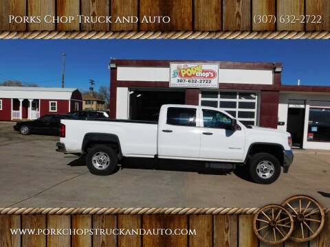 2016 GMC Sierra 2500HD for sale at Porks Chop Truck and Auto in Cheyenne WY