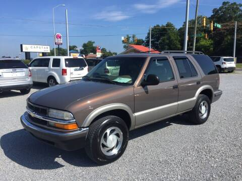 1998 Chevrolet Blazer for sale at Wholesale Auto Inc in Athens TN