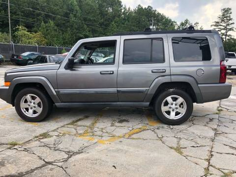 2007 Jeep Commander for sale at Judex Motors in Loganville GA