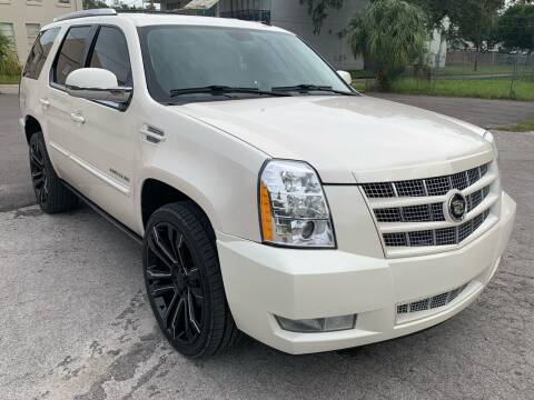 2012 Cadillac Escalade for sale at Consumer Auto Credit in Tampa FL