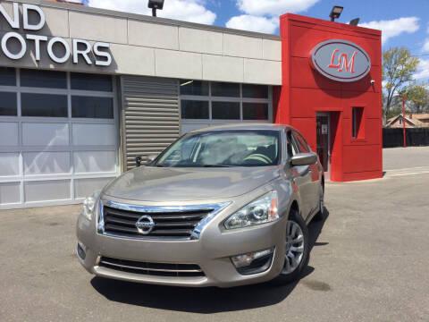 2015 Nissan Altima for sale at Legend Motors of Ferndale - Legend Motors of Detroit in Detroit MI