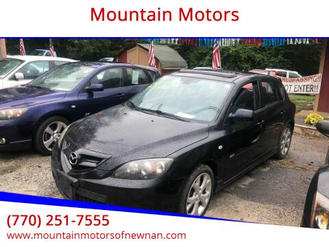 2008 Mazda MAZDA3 for sale at Mountain Motors in Newnan GA