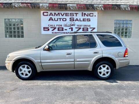 2002 Oldsmobile Bravada for sale at Camvest Inc. Auto Sales in Depew NY