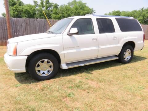 2005 Cadillac Escalade ESV for sale at Davie County Motors in Mocksville NC
