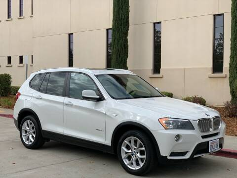 2014 BMW X3 for sale at Auto King in Roseville CA