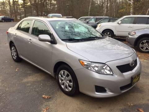 2009 Toyota Corolla for sale at Bladecki Auto in Belmont NH
