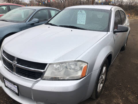 2008 Dodge Avenger for sale at BARNES AUTO SALES in Mandan ND