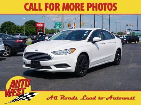 2017 Ford Fusion for sale at Autowest Allegan in Allegan MI