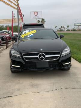 2014 Mercedes-Benz CLS for sale at A & V MOTORS in Hidalgo TX