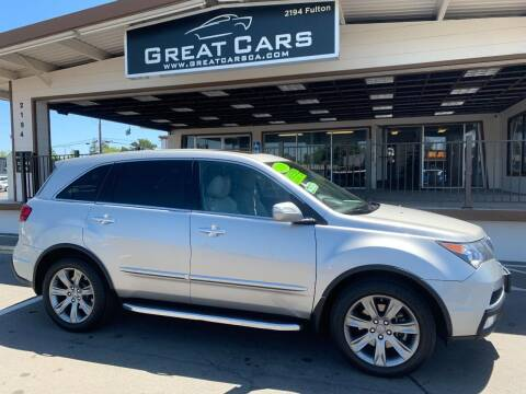 2010 Acura MDX for sale at Great Cars in Sacramento CA