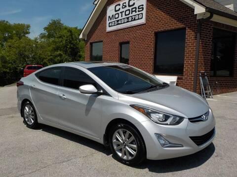 2015 Hyundai Elantra for sale at C & C MOTORS in Chattanooga TN