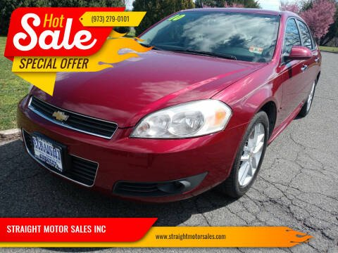 2010 Chevrolet Impala for sale at STRAIGHT MOTOR SALES INC in Paterson NJ