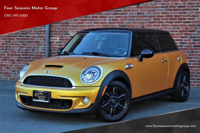 2012 MINI Cooper Hardtop for sale at Four Seasons Motor Group in Swampscott MA