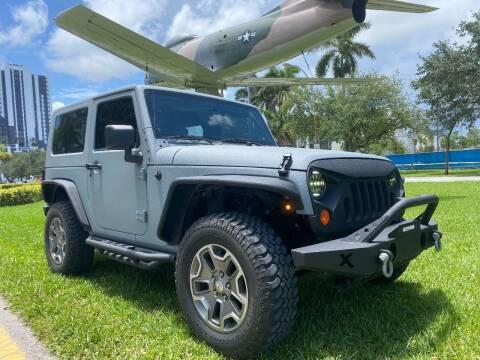 2008 Jeep Wrangler for sale at BIG BOY DIESELS in Ft Lauderdale FL