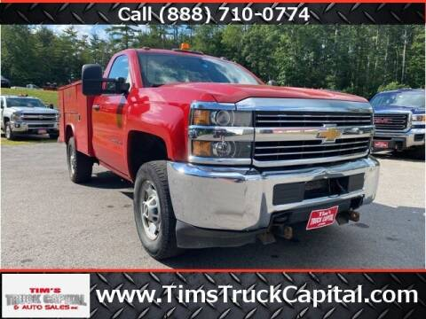 2015 Chevrolet Silverado 2500HD for sale at TTC AUTO OUTLET/TIM'S TRUCK CAPITAL & AUTO SALES INC ANNEX in Epsom NH