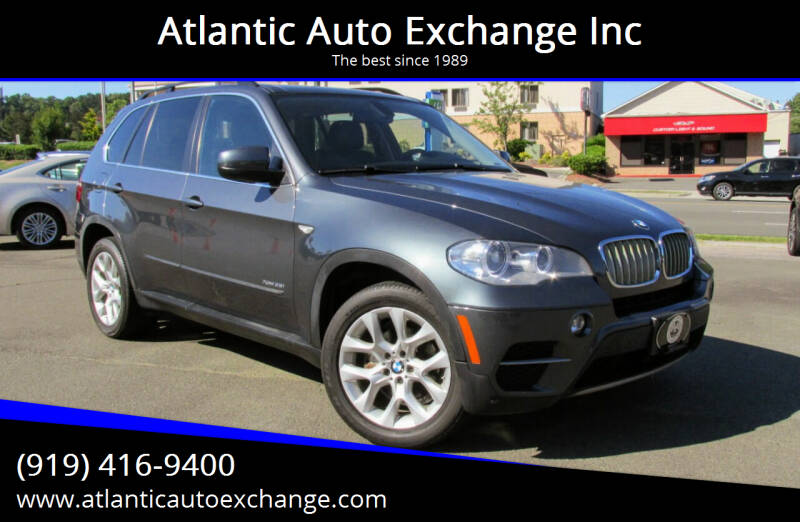 2013 BMW X5 for sale at Atlantic Auto Exchange Inc in Durham NC