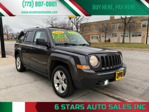 2014 Jeep Patriot for sale at 6 STARS AUTO SALES INC in Chicago IL