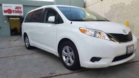 2014 Toyota Sienna for sale at Joy Motors in Los Angeles CA