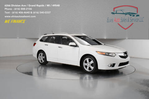 2012 Acura TSX Sport Wagon for sale at Elvis Auto Sales LLC in Grand Rapids MI