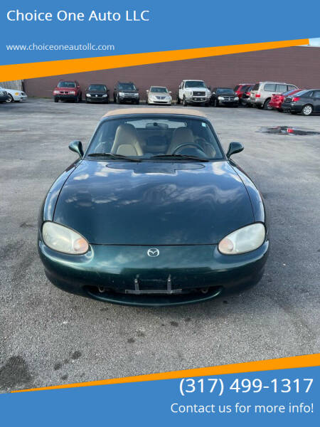 1999 Mazda MX-5 Miata for sale at Choice One Auto LLC in Beech Grove IN