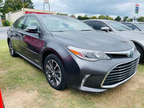 2018 Toyota Avalon Hybrid for sale at BRYANT AUTO SALES in Bryant AR