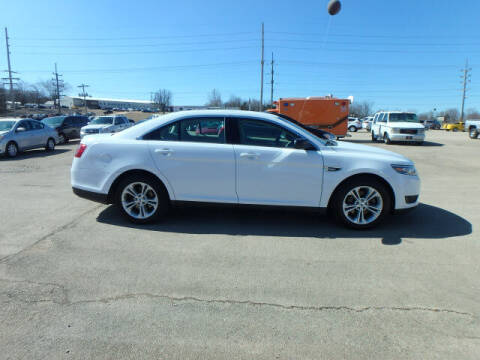 2018 Ford Taurus for sale at BLACKWELL MOTORS INC in Farmington MO