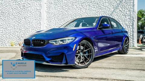 2018 BMW M3 for sale at MUSCLE MOTORS AUTO SALES INC in Reno NV