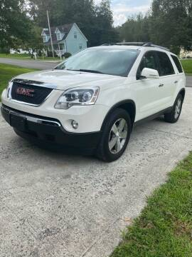 2012 GMC Acadia for sale at Conner Motors in Rocky Top TN
