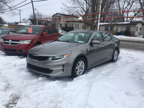 2016 Kia Optima for sale at Antique Motors in Plymouth IN