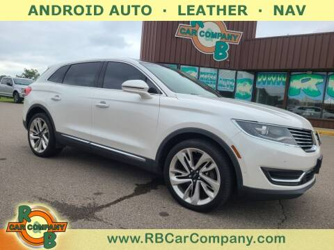 2016 Lincoln MKX for sale at R & B Car Co in Warsaw IN