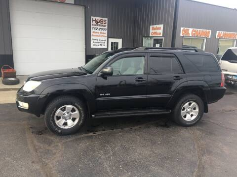 2005 Toyota 4Runner for sale at Hoss Sage City Motors, Inc in Monticello IL
