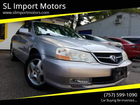 2002 Acura TL for sale at SL Import Motors in Newport News VA