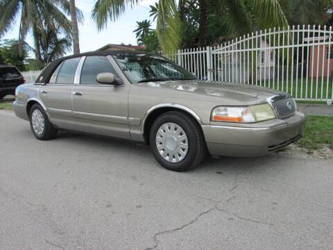 2003 Mercury Grand Marquis for sale at TROPICAL MOTOR CARS INC in Miami FL