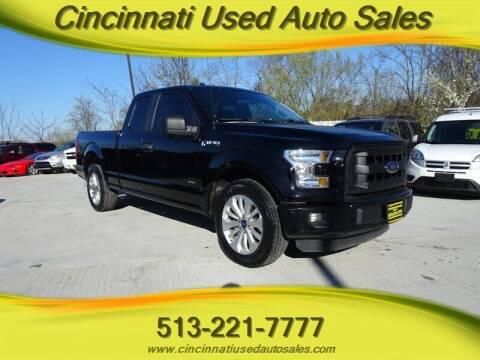 2016 Ford F-150 for sale at Cincinnati Used Auto Sales in Cincinnati OH