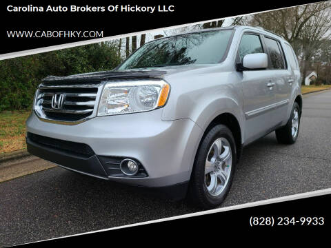 2013 Honda Pilot for sale at Carolina Auto Brokers of Hickory LLC in Newton NC