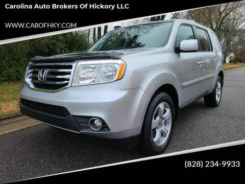 2013 Honda Pilot for sale at Carolina Auto Brokers of Hickory LLC in Newton NC