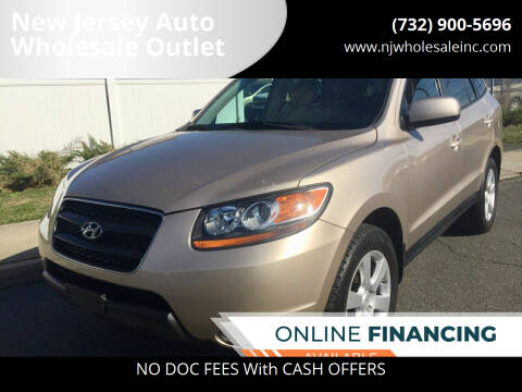 2007 Hyundai Santa Fe for sale at New Jersey Auto Wholesale Outlet in Union Beach NJ